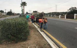 Obras Públicas sigue embellecimiento del Pueblo Mágico