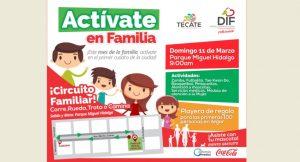 Con circuito familiar y sorpresas DIF Tecate celebrará a la Familia