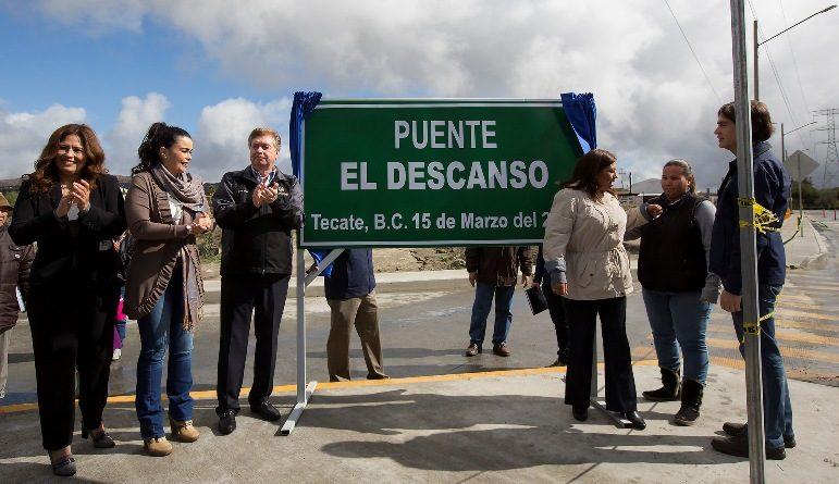 Resalta Gobernador Kiko vega inversión de más de 140 mdp en infraestructura y desarrollo urbano en Tecate para 2018
