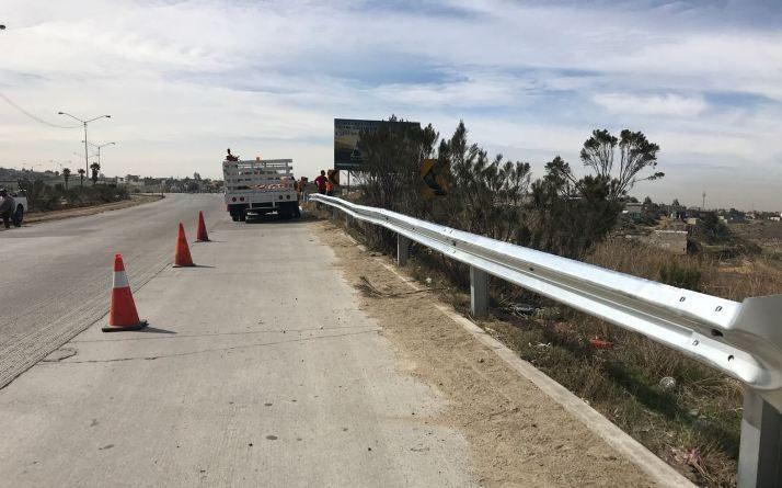 RealizaGobierno del Estado Obras de rehabilitación del corredor Tijuana-Rosarito 2000