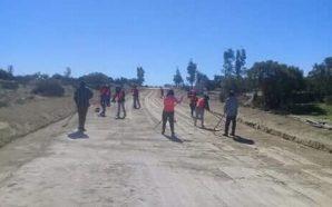 Rehabilitan principales accesos rurales de Tecate