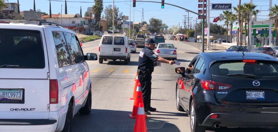 Redoblará esfuerzos la Policía para mantener el orden y la seguridad de Tecate