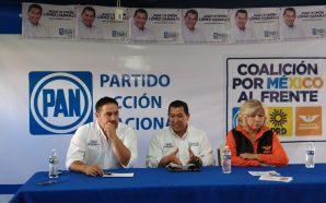 Candidato a diputado por el PAN, Juan Ramón López Naranjo…