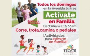 Domingo 25 de marzo una edición más de Actívate en Familia.