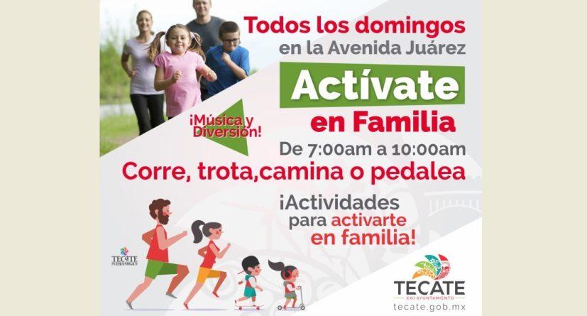 Promueve Ayuntamiento de Tecate, Domingos Familiares