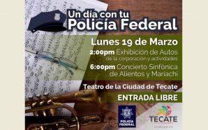 Orquesta y mariachi de la Policía Federal estarán en Tecate