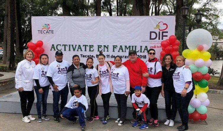 Regalando sonrisas y diversión DIF Tecate celebró a la Familia