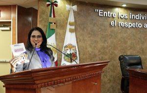 """La Dip. Mónica Hernández """"La Chula"""" presentó iniciativa para dar origen a la Ley de Estímulo Fiscal a la Creación Y Expresión Artística"""