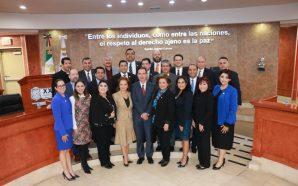 Congreso rinde homenaje al bajacaliforniano DR. Eduardo Ferrer, Presidente de la Corte Interamericana de Derechos Humanos