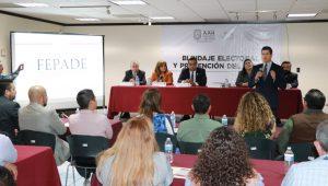 La FEPADE impartió un curso en materia de delitos electorales al personal del Congreso