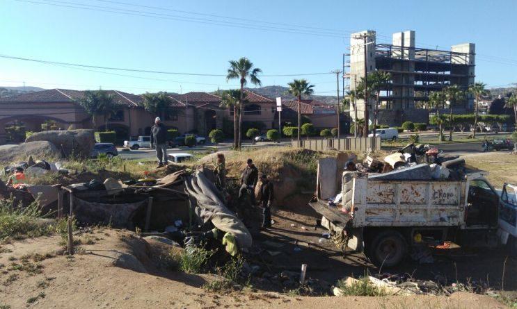 """Policía de Tecate destruye """"picadero"""""""