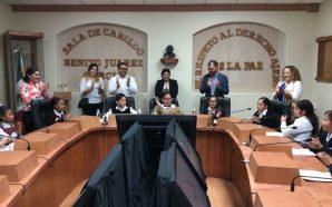 Sesiona Cabildo Infantil de Tecate