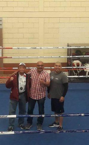 Imdete gestiona la rehabilitación del cuadrilátero del Gimnasio de Box de la ciudad por medio del Instituto del Deporte y la Cultura fisica de Baja California.