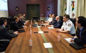 Se reúne Gobernador Francisco Vega con titular de SEGOB Alfonso Navarrete Prida