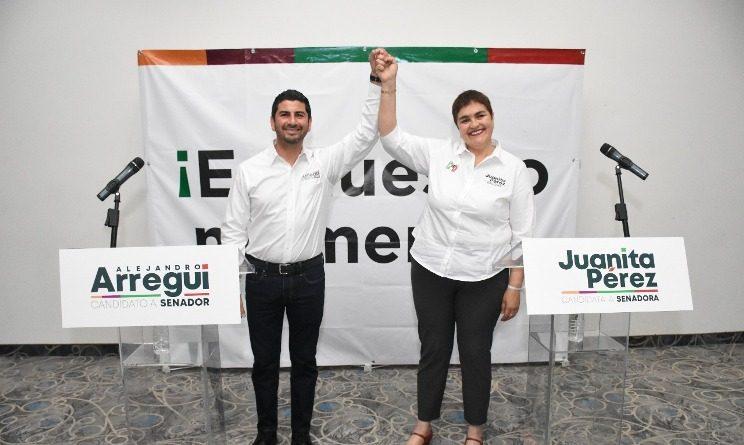 Presentan Arregui y Juanita diez objetivos por B.C.