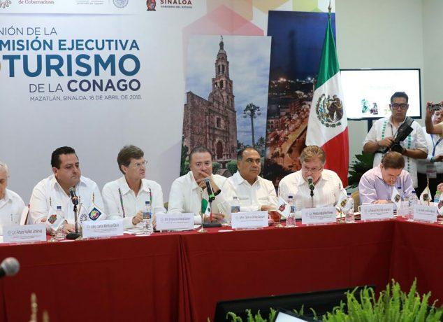 Destaca Gobernador Francisco Vega importancia del Sector Turístico para el Desarrollo de B.C. en reunión de CONAGO