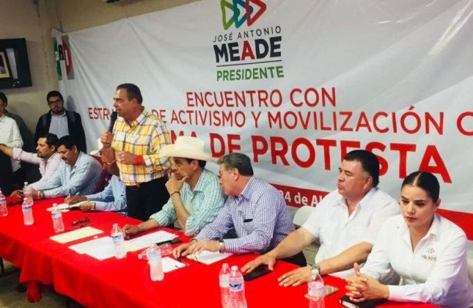 Con el fortalecimiento de los sectores el PRI ganará: Ruvalcaba
