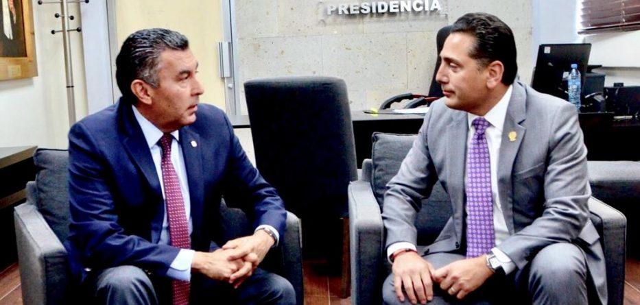 Destacan coordinación entre Poder Ejecutivo y Legislativo