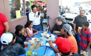 Atiende Gobierno del Estado a migrantes centroamericanos que llegaron a Mexicali