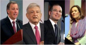 A AMLO no le convienen los debates, Anaya y Meade lo retan a debatir