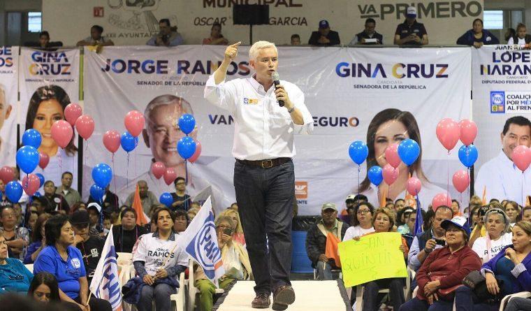 Seguridad, modernizar la carretera transpeninsular y un Hospital General para Ensenada, compromiso de Jorge Ramos