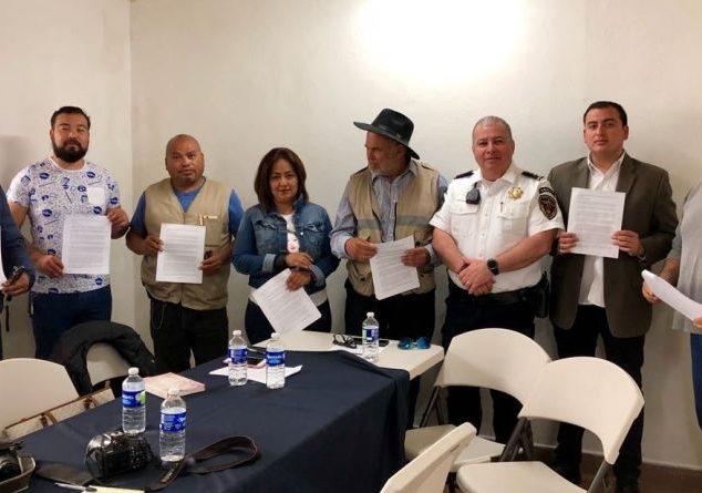 Actualizan protocolo del periodista en Tecate