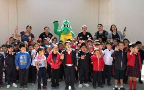DSC lleva el programa DiNo al jardín de niños Bertha Von Glumer