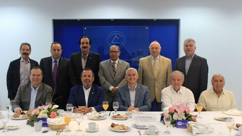 Seré gestor de Canaco ante el Gobierno Federal en seguridad y economía: Jorge Ramos