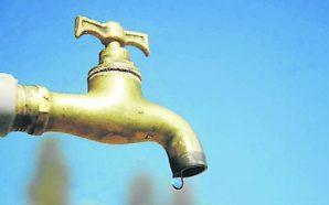 Suspensión de agua potable en Zona Rural Este