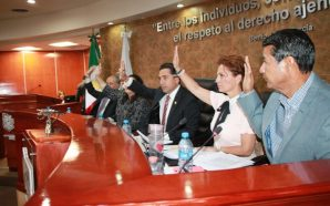 Los integrantes del Congreso Local signaron un Pacto de Civilidad para el presente proceso electoral