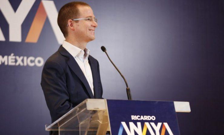 Ricardo Anaya propone estrategia integral de seguridad