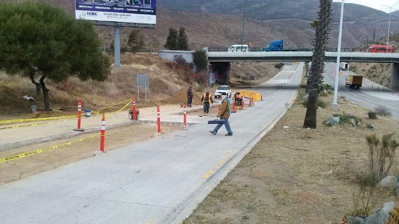 Continúa Gobierno del Estado con obras de rehabilitación en Corredor Tijuana-Rosarito 2000