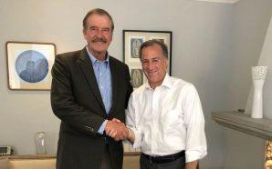 Meade recibe apoyo de ex presidente Vicente Fox