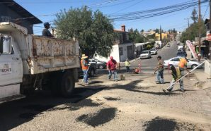 Gobierno Municipal realiza trabajos de rehabilitación de vialidades y embellecimiento…