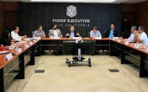Se reúne Gobernador Francisco Vega con los cinco Alcaldes de…