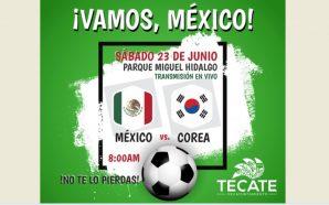 Partido de México será transmitido en pantalla gigante en el…
