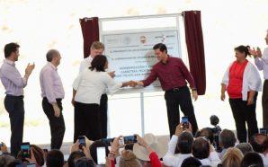 Inaugura Presidente Peña Nieto carretera Tecate-San Antonio de las Minas