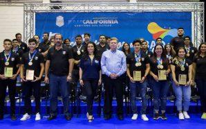 Reconoce Gobernador Francisco Vega a deportistas de BCque participaron en…