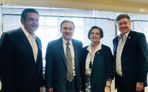 Se reunió Gobernador Francisco Vega con próximo Secretario de Seguridad…