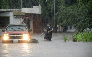 Sinaloa bajo el agua
