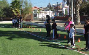 Alumnos y padres de familia participan en el Rally Juego…