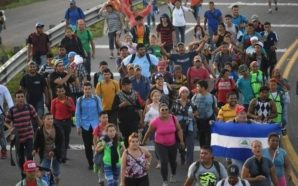 Avanza la caravana migrante a través de México
