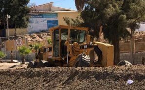 Avanzan obras de pavimentación en Cerro Azul y Valle de las Palmas