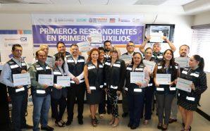Entregan constancias a primeros respondientes en primeros auxilios del Congreso…