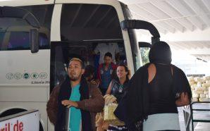 Llega a Baja California primer grupo de centroamericanos migrantes