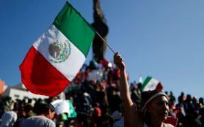 Se manifiestan tijuanenses en contra de caravana migrante