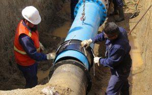 Fortalece Gobierno del Estado sistema de suministro de agua con reposición línea de conducción en Tecate