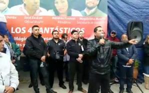 Arturo G. Vázquez Secretario Estatal de burócratas se *burla* de…