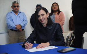 Quedó registrada Eloísa Talavera Hernández