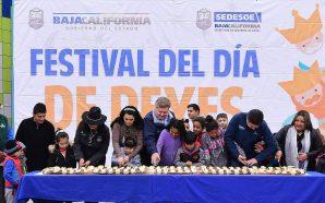 Encabezan Gobernador Kiko Vega y su esposa Brenda Ruacho celebración por el Día de Reyes